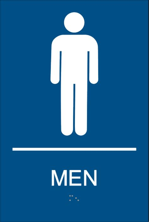 bathroom signs images mens restroom signs with braille mens bathroom signs