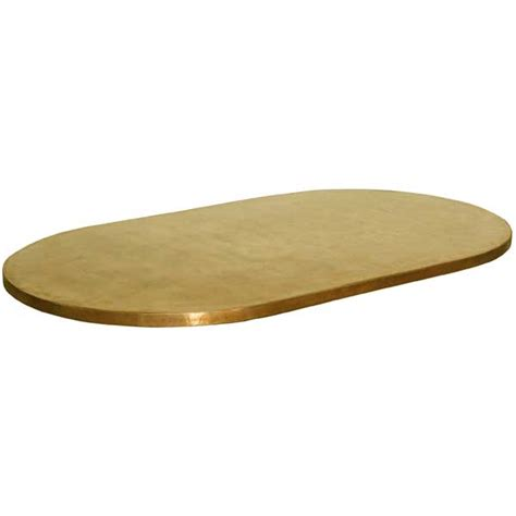custom furniture copper top tables brass top tables