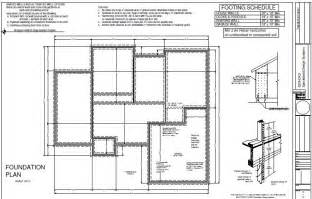 foundation plans for houses house3 foundation plan sds plans