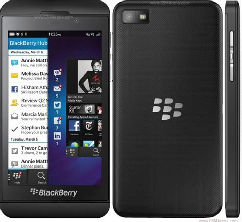 BlackBerry Z10 pictures, official photos