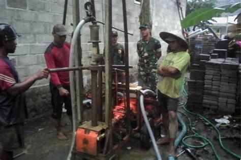 Bor Air Sumur Mesin Bor Sumur Terpasang Problem Air Bersih Sedikit