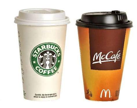 Coffee Di Mcd starbucks y mcdonald s en problemas con un sector de china