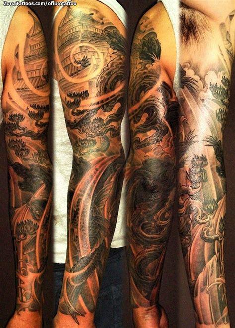 tattoo oriental brazo tatuajes orientales en brazos espalda peces chinos dragon