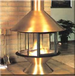 metal wood burning free standing fireplace wood or gas