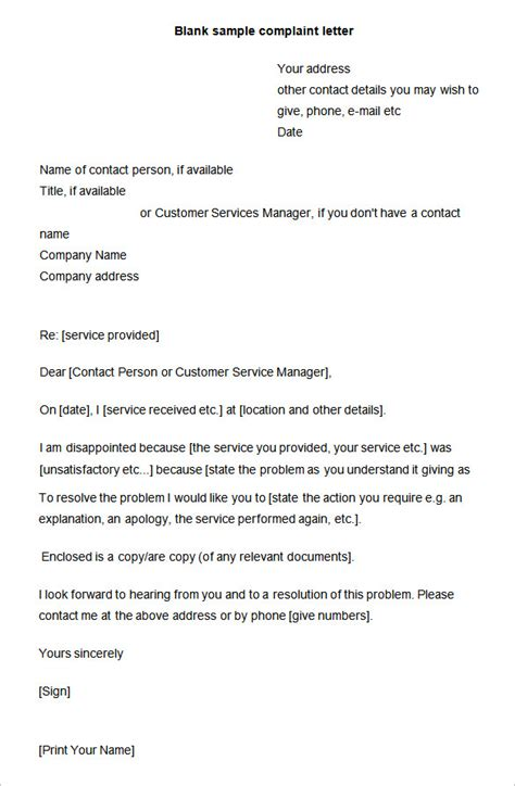 sle cover letter human resources sle complaint letter to human resources about manager 28