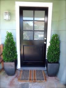 Curb Appeal Front Door Color - stylish black front doors change your house s curb appeal