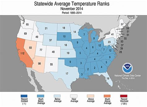 us weather map november national climate report november 2014 state of the