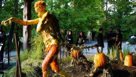 New York Botanical Garden Pumpkin Villafane New York Botanical Garden Exhibit
