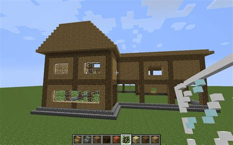 wooden house designs minecraft wooden house idea amazing natural home design