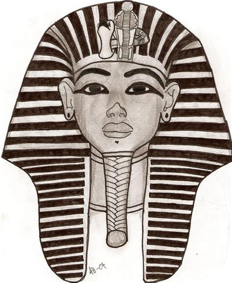 egyptian face mask by fkrueger on deviantart