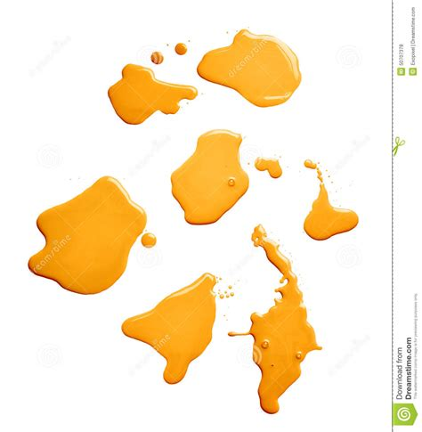 the puddle of a paint spill stock photo image 50707378