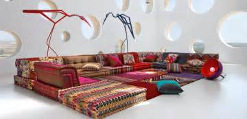 Dining Room Settee mah jong composition missoni home roche bobois