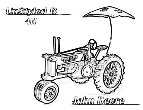 printable coloring pages deere tractors deere coloring pages for to color fitfru style