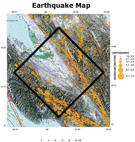 san francisco earthquake map usgs 3d 4d mapping of the san andreas fault zone