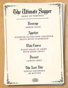 tudor menu template user asnow89 of thrones food fiction recipes wiki