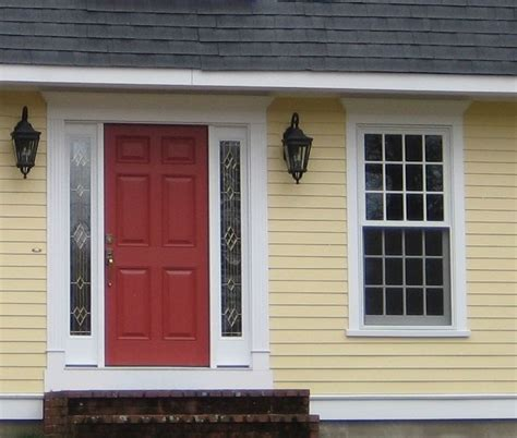 choosing a yellow for your house color house colors benjamin and front doors