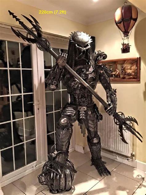 Predator Statue size predator figure statue sculpture predator tables