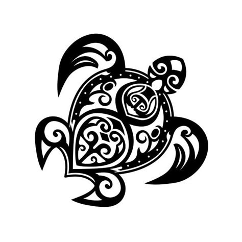 large temporary tribal tattoos maori turtle polynesian hawaian temporary moana