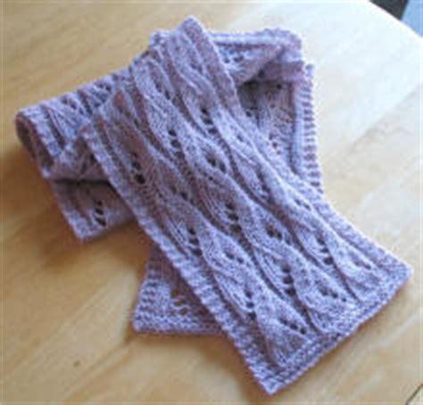 waterfall scarf knitting pattern waterfall lace scarf pattern knitting