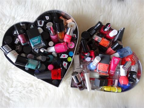 nagellak opbergsysteem opbergtip voor nagellak all lovely things