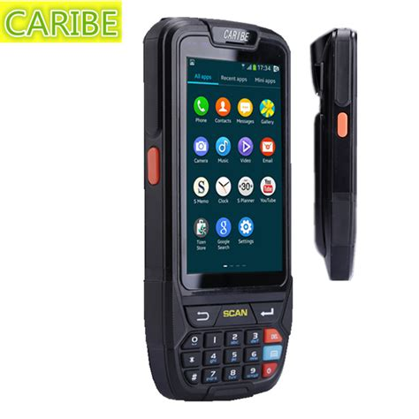 Wifi Gsm Portable caribe pl 40l android 5 1 wifi pda data collector gsm