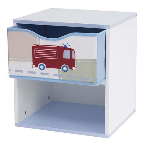 bedside table with l attached boys vehicles bedside table bedroom furniture engine