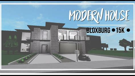 homes built for 10k roblox bloxburg modern house 35k
