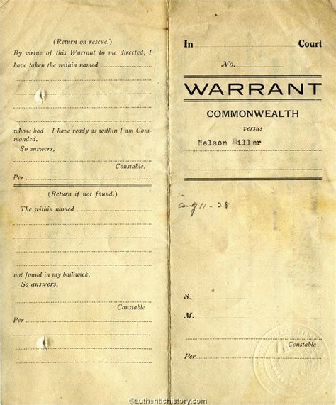 How To Search For Arrest Warrants Arrest Warrants 101 Weaponsman