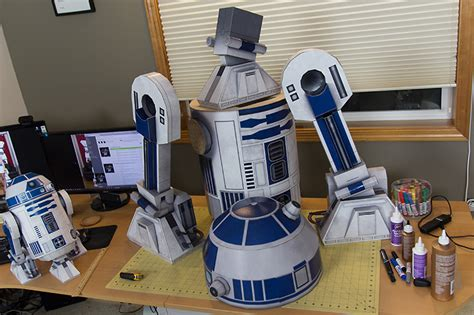Papercraft For Sale - r2 d2 ae2 size papercraft droid visualspicer