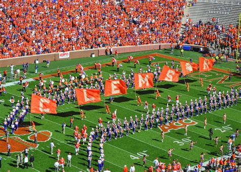 clemson football life of a southern belle clemson football military