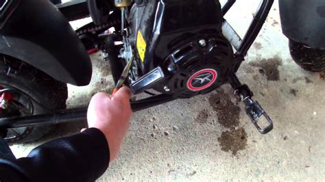 doodle bug mini bike change how to change the speed limiter on the motovox mbx10