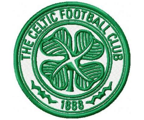 celtic fc logo machine embroidery design  instant