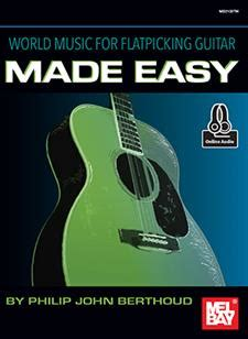 flatpicking guitar songs book with audio access bluegrass tabs and songbook books world for flatpicking guitar made easy book