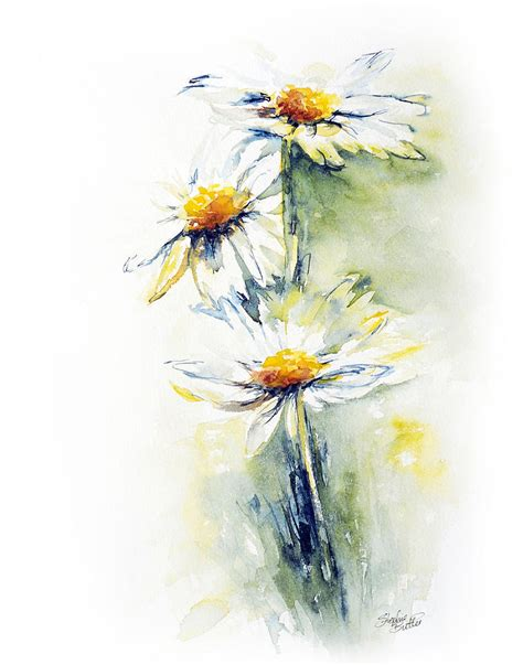 daisy chain painting by stephie butler