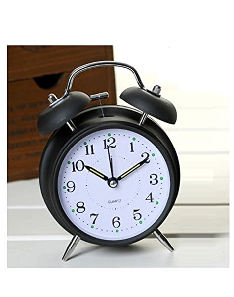 Loudest Alarm Clocks For Heavy Sleepers loud alarm clock for heavy sleepers with bell and light ghome offer beside desktop non