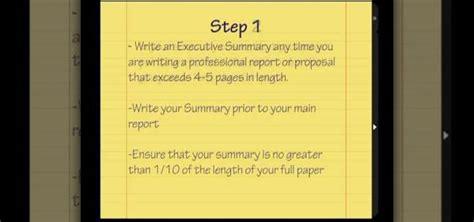 executive presentations executive summary powerpoint template