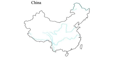 printable maps china printable map of maps of china rivers free printable
