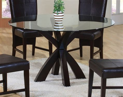 glass kitchen table complement for dining