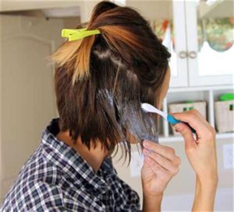 can i use wild ombre on short hair how to highlight dark hair lovetoknow