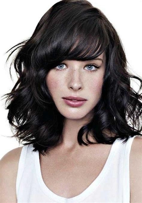 35 Awesome Bob Haircuts With Bangs Makes You Truly | 15 photo of wavy bob hairstyles with bangs