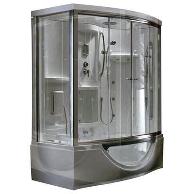 Watertec 301 White Jet Shower steam planet modern steam shower enclosure with