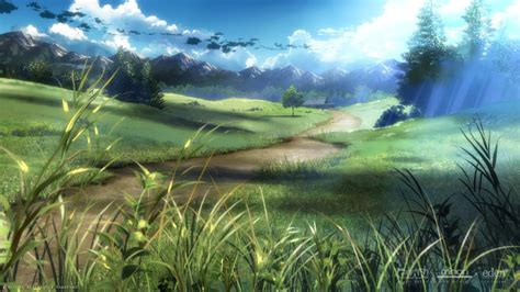 imagenes de paisajes anime paisajes anime imagui