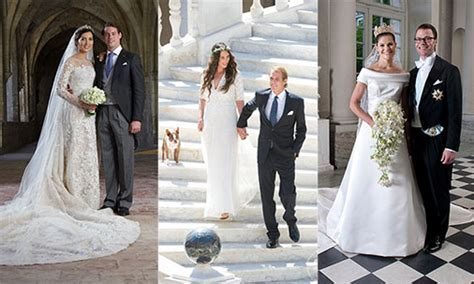 The most beautiful royal weddings of all time including