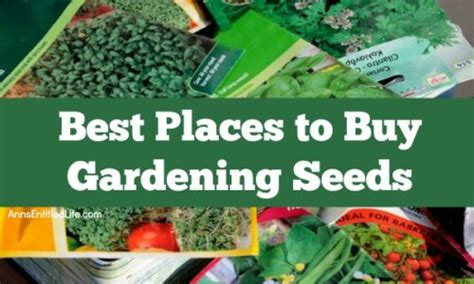 places  buy gardening seeds
