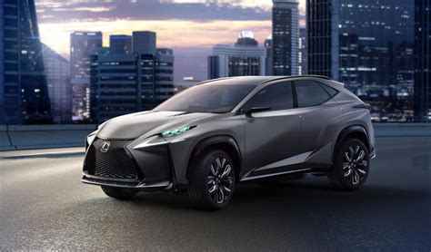 lexus compact car lexus cars news turbo lf nx compact suv concept set for