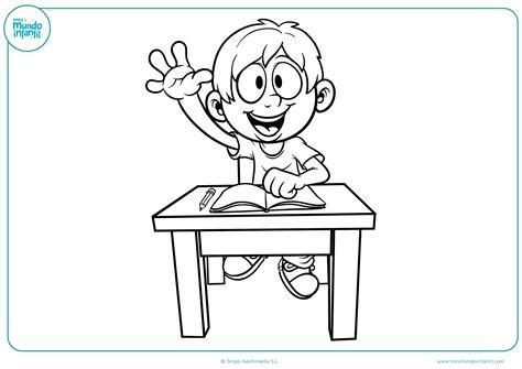 imagenes infantiles regreso a clases dibujos de la clase para colorear mundo primaria