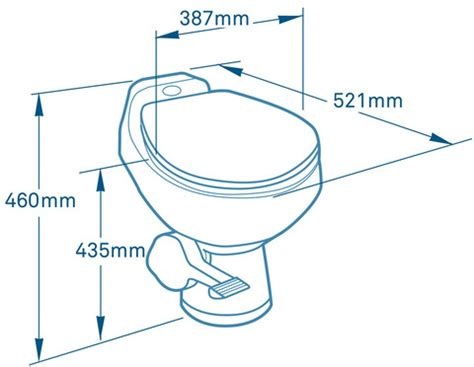 toilet seat dimensions mm sealand 510h traveller holding tank toilet