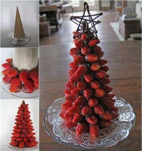 fruit christmas tree centerpiece trusper
