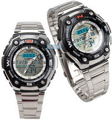 Jam Casio Original Aqw 101 1aver jual jam tangan casio outgear fishing gear aqw 101d