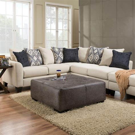 Albany Sectional Sofa Albany R759 2 Sectional Sofa In Dynasty Fabric Hill Furniture Sectional Sofas
